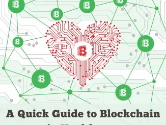 "Cover ""A Quick Guide to Blockchain in Healthcare"""